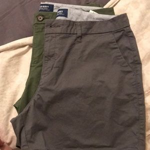 "Old Navy everyday short. 5"" (1 pair) - GRAY"